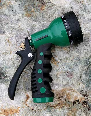 Dramm Nine-Pattern Spray Gun Green