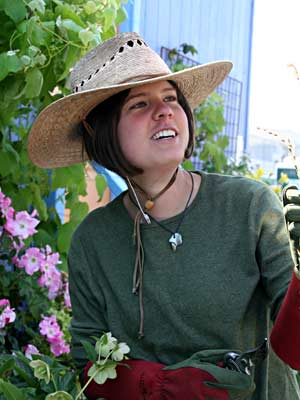 Gardener's Lattice Hat L/XL